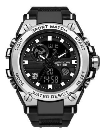 Relógio Esportivo Militar Sanda 739 À Prova D