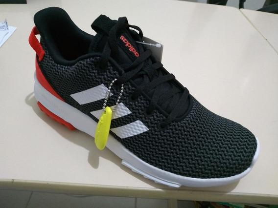 Tenis adidas Cf Racer Preto Vermelho