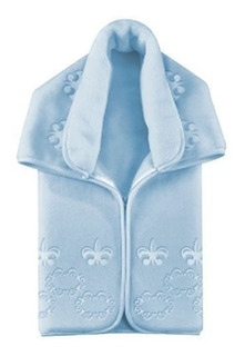 Saco De Dormir Cobertor Baby Sac Premium Royale Azul Colibri