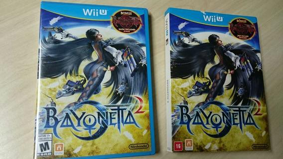 Bayonetta 2 Wii U Com Luva Nacional Impecável.100% Positivo