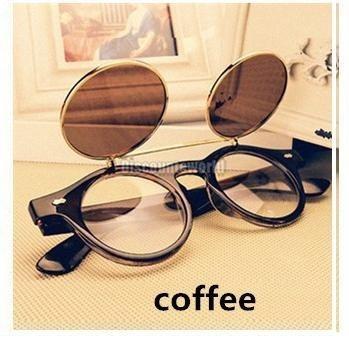 1c3ec3bfc Armação Óculos De Grau Com Flip Up Masculino Feminino Bi - R$ 76,80 em Mercado  Livre