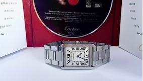 Cartier Tank Solo Large Todo Aço , Impecável!!!