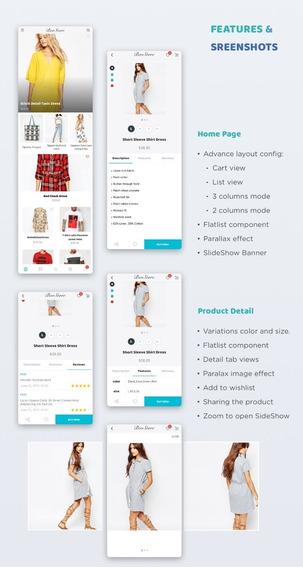 App - Loja Virtual Nativo Para E-commerce