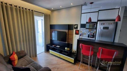 Imagem 1 de 29 de Apartamento Com 2 Dormitórios À Venda, 63 M² Por R$ 500.000 - Centro - São Caetano Do Sul/sp - Ap1372