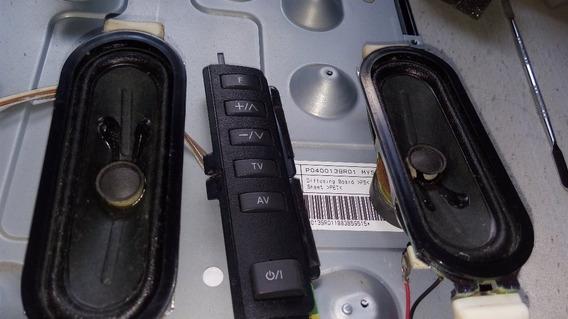 Teclado Auto Falante C. Remoto Tv Lcd Panasonic Tc-l32c30b