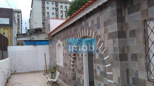 Casa Com 2 Dormitórios À Venda, 100 M² Por R$ 550.000,00 - Vila Belmiro - Santos/sp - Ca0487