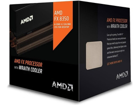 Processador Amd Fx 8350 4ghz Octa Core Cooler Am3+ Cpu