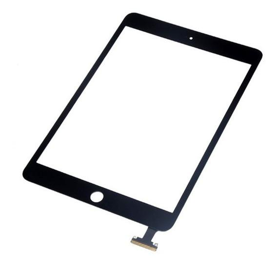Vidro Tela iPad Mini Touch Screen Preto E Branco Sem Home