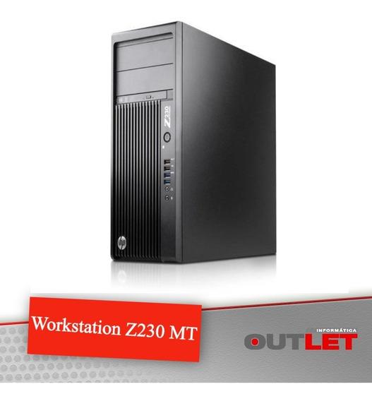 Workstation Hp Z230 Mt Xeon E3-1240v3 8gb 500gb Quadro 2000