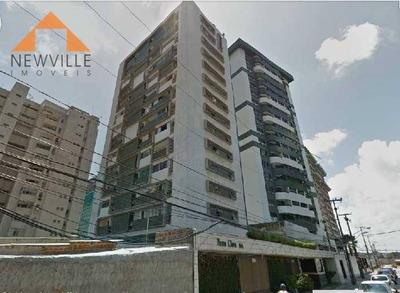 Apartamento Com 2 Dormitórios Para Alugar, 71 M² Por R$ 1.200/mês - Boa Viagem - Recife/pe - Ap1439