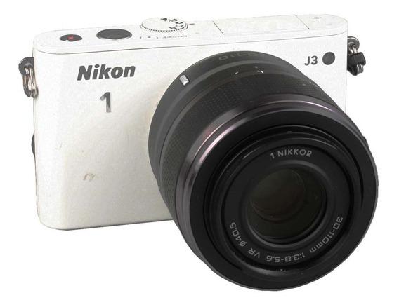 Câmera Mirrorless Nikon J3 + 30-110mm Vr + 10mm F2.8