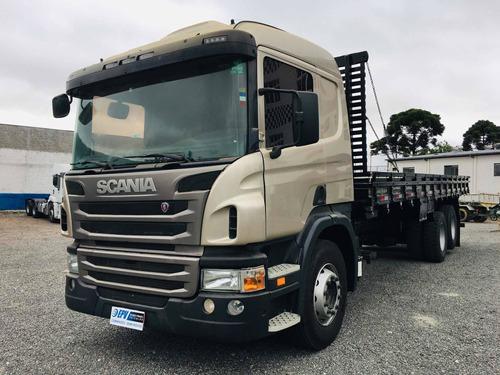 Scania P250 6x2 Carroceria