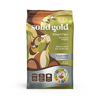 Sólido Oro Sensible Para El Estómago Comida Para Gatos Sec