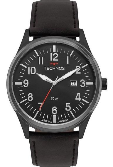 Relógio Technos Masculino Steel 2115mtc/2p Preto C/ Nfe