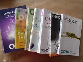 7 Livros Osho Lote Em Inglês Em Ótimo Estado