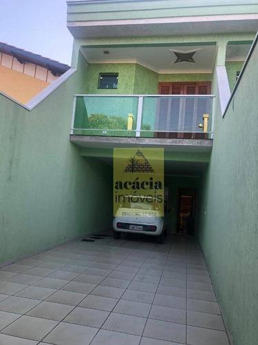 Imagem 1 de 15 de Sobrado Com 3 Dormitórios À Venda, 229 M² Por R$ 689.000,00 - Conjunto Residencial Vista Verde - São Paulo/sp - So2851