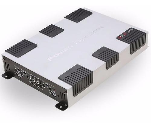 Amplificador Power Acoustik Edge Eg4-1500 4 Canales 1500 W