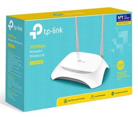 Roteador Wireless Tp-link Tl-wr849n 2 Antenas Fixas Bi-volt