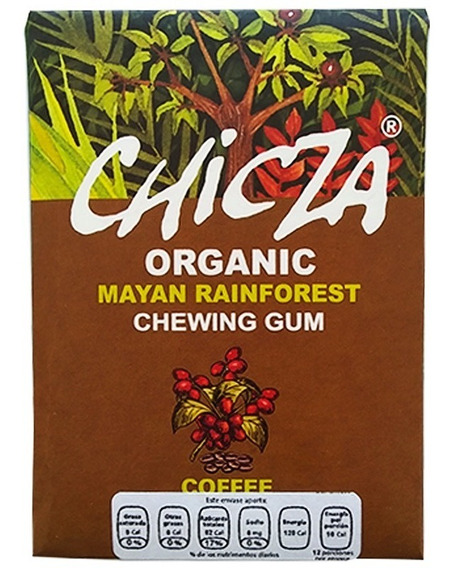 Chicle Chicza Café 30g 100% Orgánico, Biodegradable
