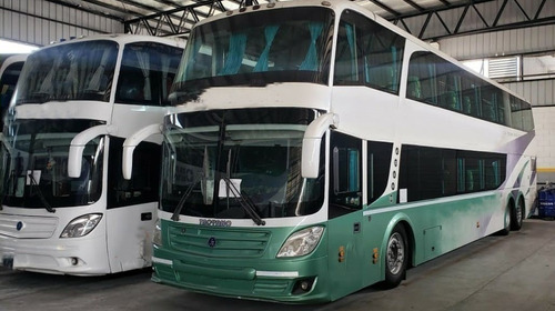 Omnibus Bus Doble Piso K380 K410 Semi Automatico Automatico