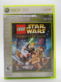 Lego Star Wars The Complete Saga Xbox 360 Original Completo