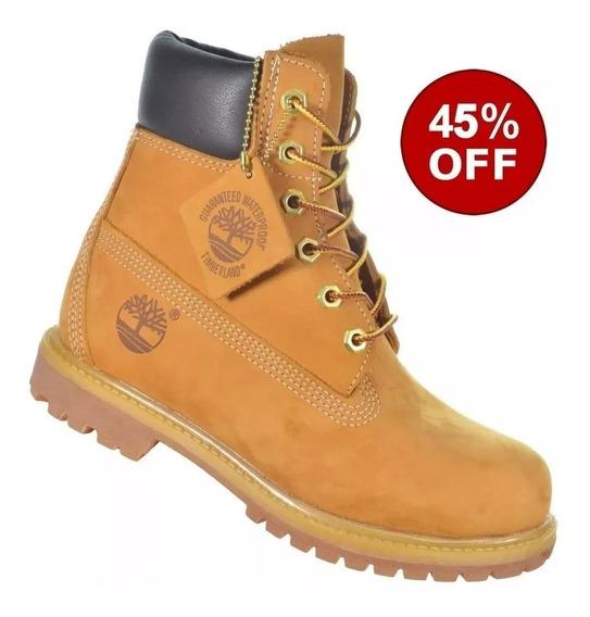 Bota Feminina E Masculina Timberland Yellow Boot 6 Na Caixa