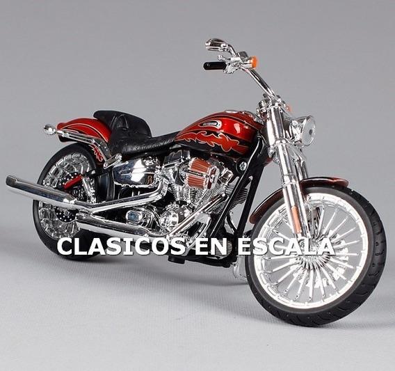 Harley Davidson Cvo Breakout 2014 - Moto Maisto 1/12