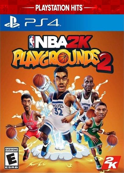 Nba 2k Playgrounds 2 De Ps4 Mídia Digital Promoção Primaria