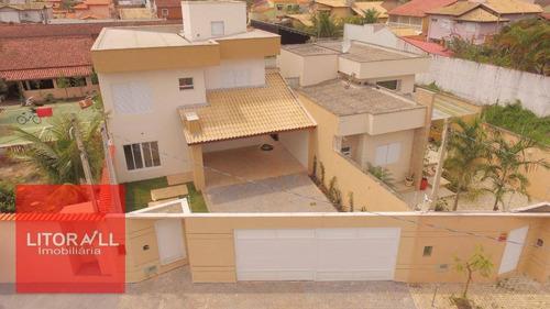 Sobrado Com 4 Dormitórios À Venda, 191 M² Por R$ 990.000,00 - Cibratel Ii - Itanhaém/sp - So0251