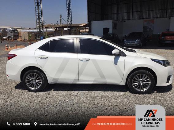 Toyota Corolla Xei 2.0 2017 Branco Conservado.