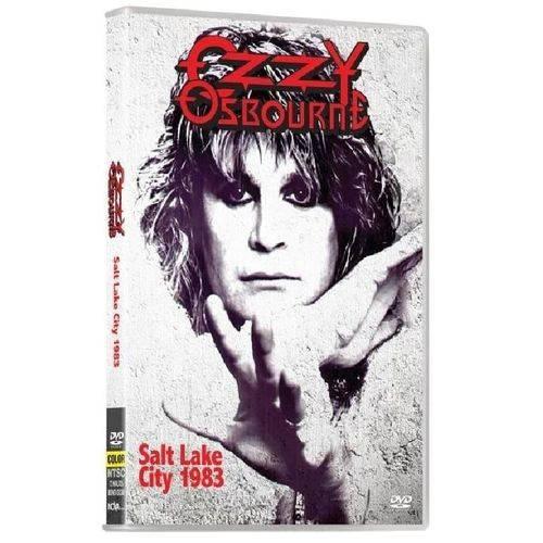 Dvd Ozzy Ousbourne Salt Lake City 1983