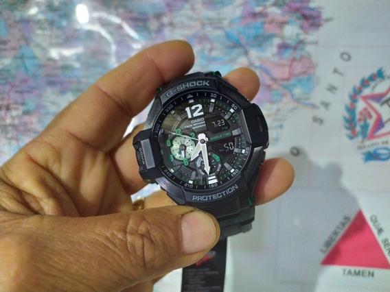 Relógio G-shock Ga 1100 1a3 Gravity Master..! Impecável..!