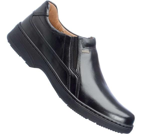 Sapato Pegada Comfort Anilina Soft Social Masculino