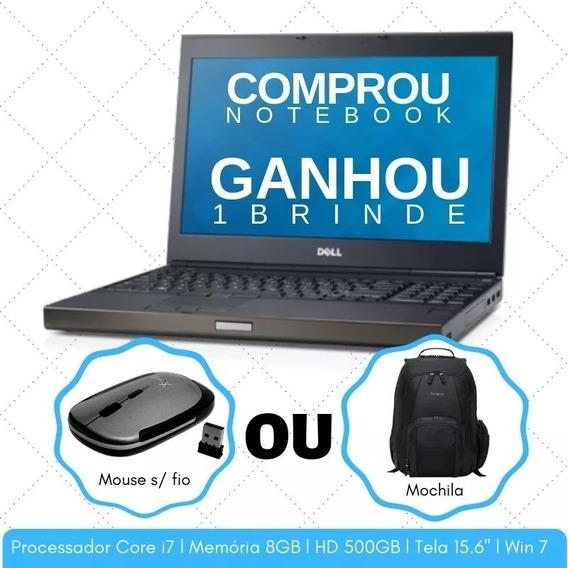 Notebook Corporativo Dell I7 4° Ger. Hd500 Adquira Já O Seu