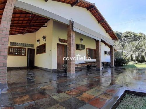Casa Tipo Chácara Com Piscina Em Maricá/rj - Ca3674