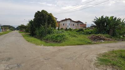 Terreno Praia Mongaguá Sp Entrada E R$ 500,00 Mensais Fixas