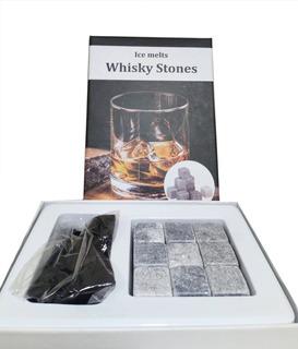 Cubos De Hielo Tipo Roca Whisky Vodka Piedra Set 9