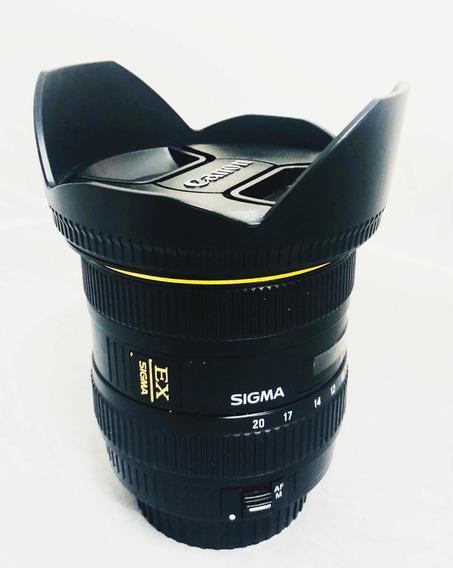 Lente Sigma 10-20 Mm Canon F4 5.6