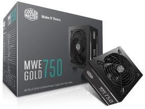Fonte Gamer Mwe 750w - Gold - Mpy-7501-acaag-wo C/ Nf