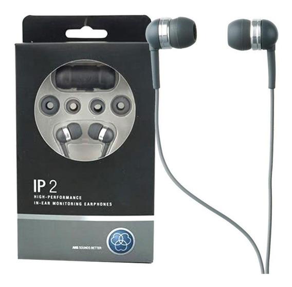 Fone De Ouvido Akg In Ear Ip2 Isolamento Contra Ruídos