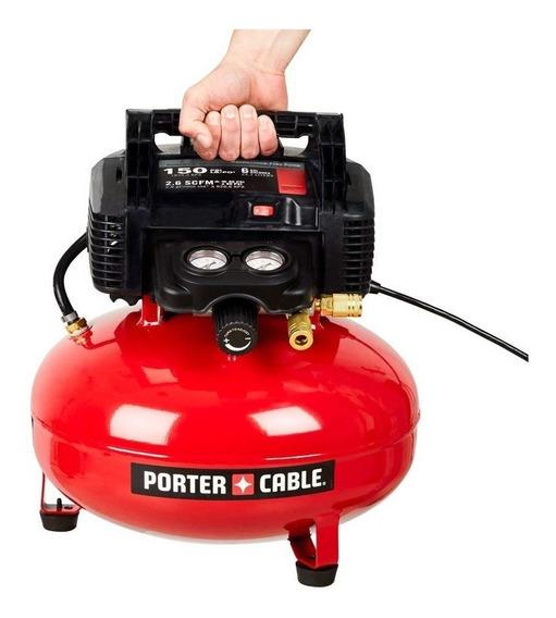 Compresor De 6 Galones 150 Psi Portercable C2002