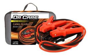 Cables Auxiliares Premium Bateria Carro Dr. Care 800 Amp
