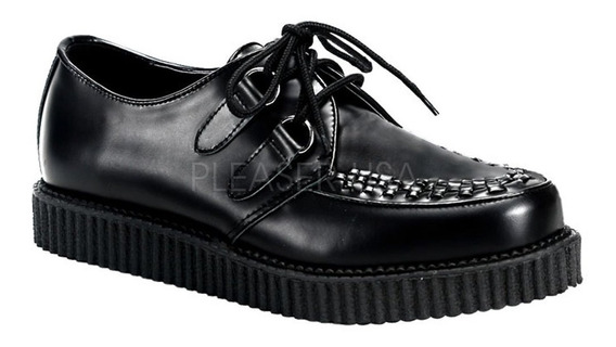 Zapatos Dark Alternativo Rock Punk Demonia Creeper 602