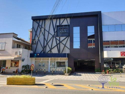 Ampla Loja  Comercial Em Ponto Estratégico Na Cidade De Blumenau. - Lo0068