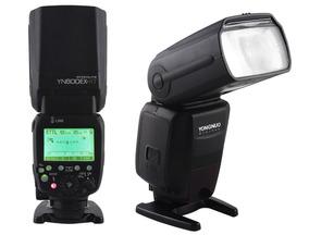 Flash Yn 600 Ex Rt Il Speedlite + 4 Eneloop Pro Para Canon