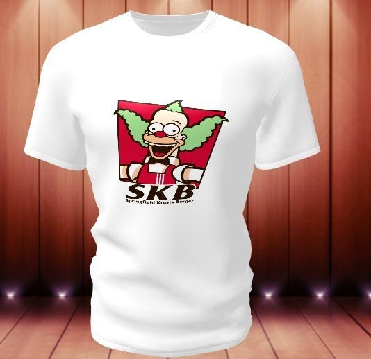 Camiseta Personalizada Krusty, O Palhaço
