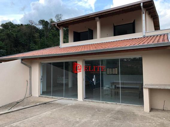 Casa Com 4 Dormitórios À Venda, 275 M² Por R$ 350.000 - Lindóia - Lindóia/sp - Ca1877