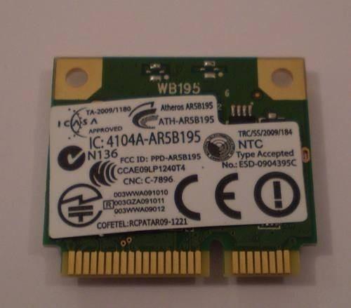 Placa Wireless Atheros Ar5b195