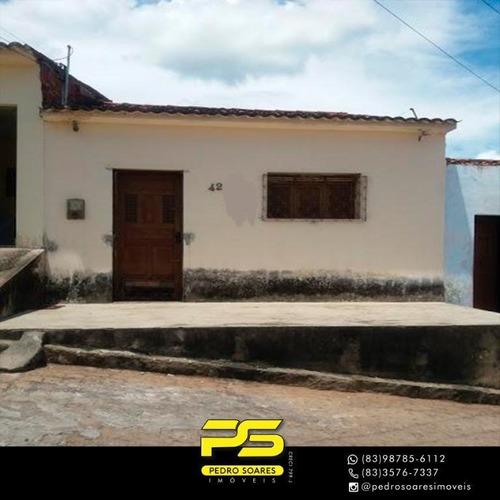 Casa Com 3 Dormitórios À Venda Por R$ 80.000 - Nordeste Ll - Guarabira/pb - Ca0596