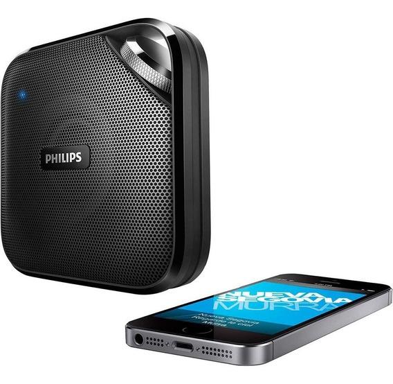 Caixa De Som Bluetooth C/ Microfone Portátil Sem Fio Philips